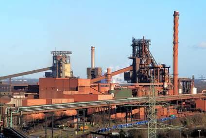 Hochofen, Stahlindustrie in Deutschland